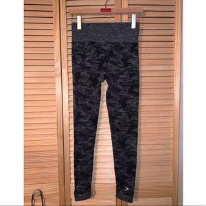 camo gymshark leggings